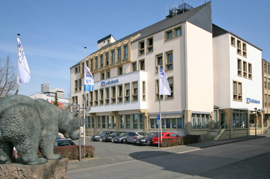 Gebäude Volksbank Eifel Bitburg