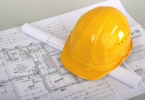 Bauplan und Helm